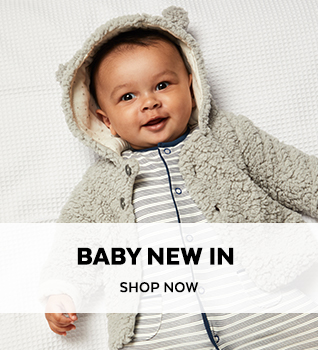 Baby New In. Shop Now.